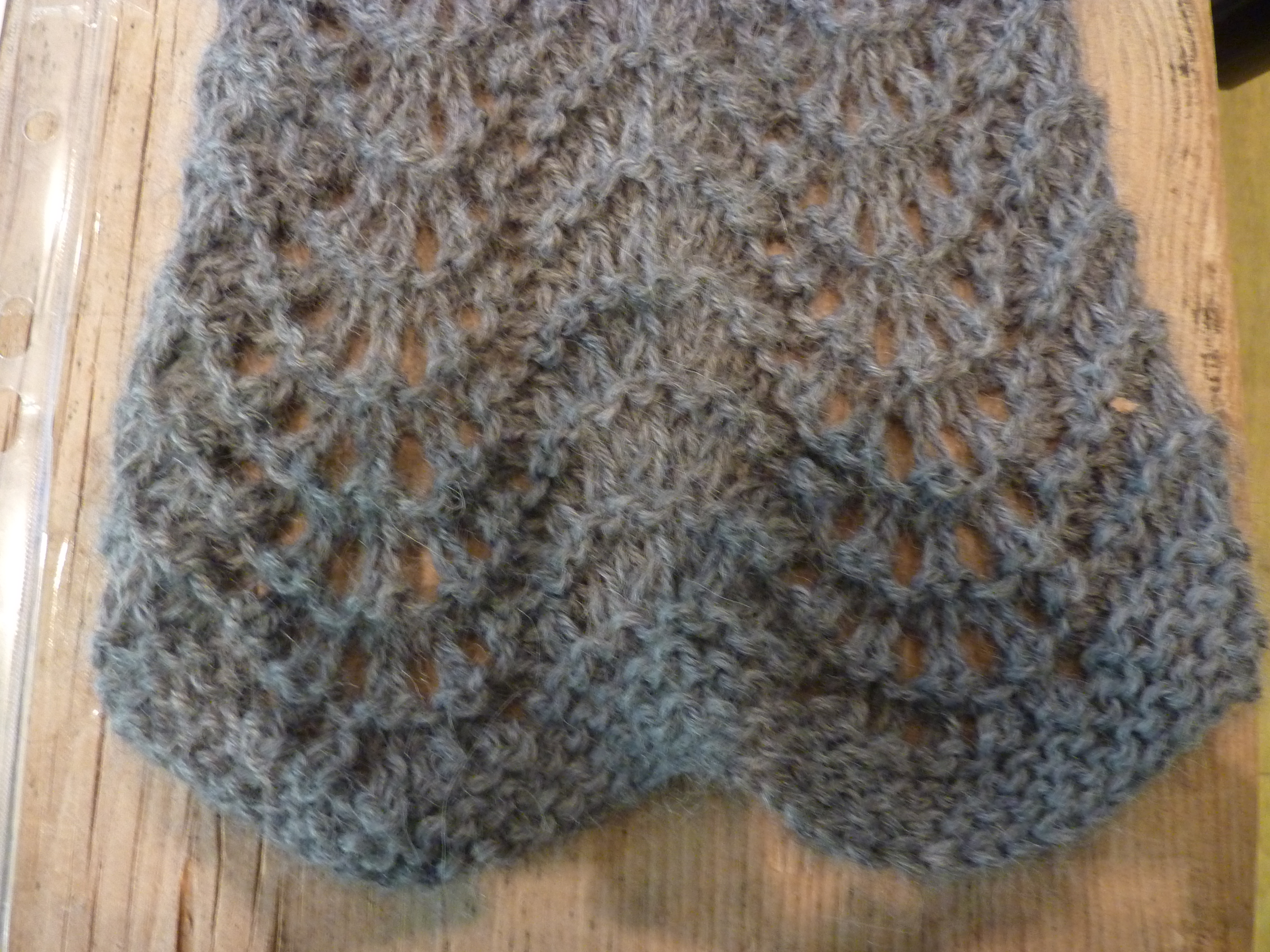 Reddit Knitting Blocking : My favourite easy lace scarf confessions of a fibre strumpet