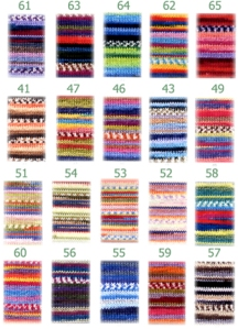 Knitcol Shade Card