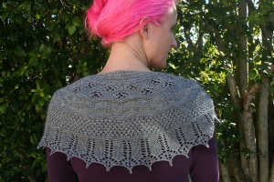 Winter is Coming Shawl by Sally Cameron
