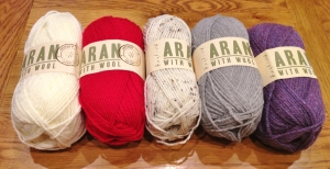 New Hayfied Aran With Wool 100g
