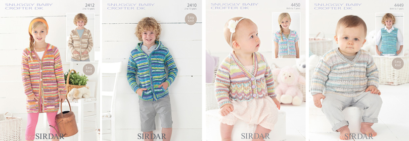 Baby crofter patterns