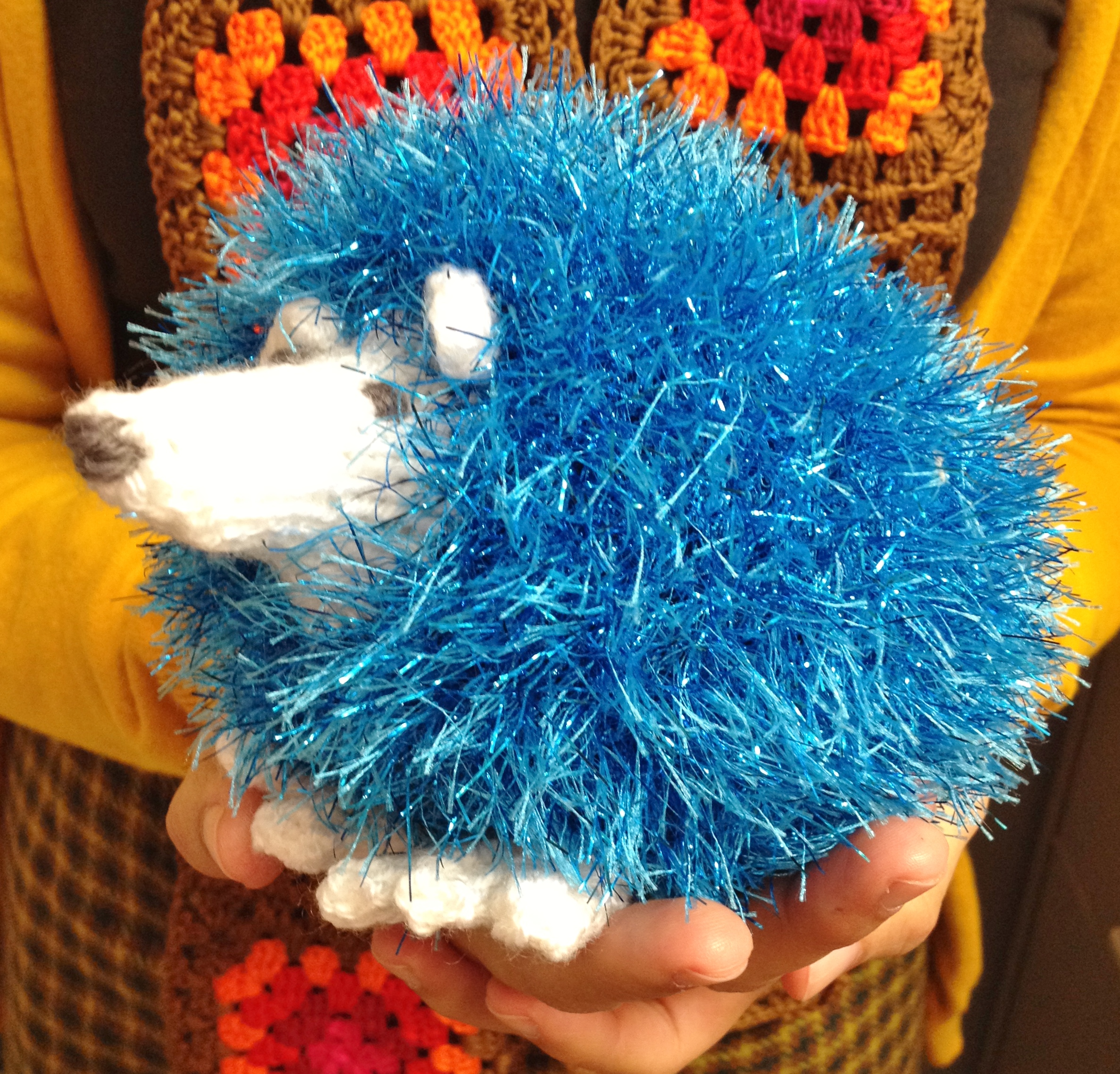 Sparkly Hedgehog Knitting Pattern : Red the Hedgehog   Confessions of a Fibre Strumpet