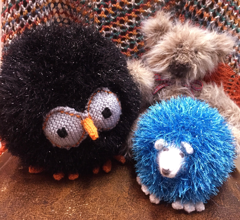 Tinsel Hedgehog Knitting Pattern : Sirdar Snowman   Confessions of a Fibre Strumpet