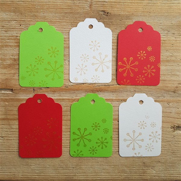 leftfootdaisy-twelve-days-christmas-rubberstamped-tags