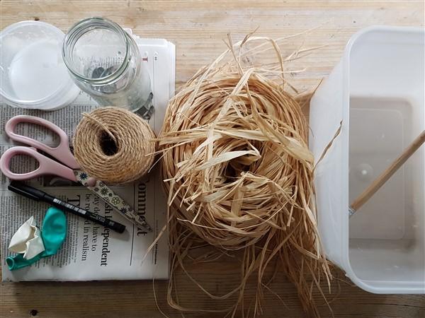 Leftfootdaisy-handmade-woven-birds-nest-materials