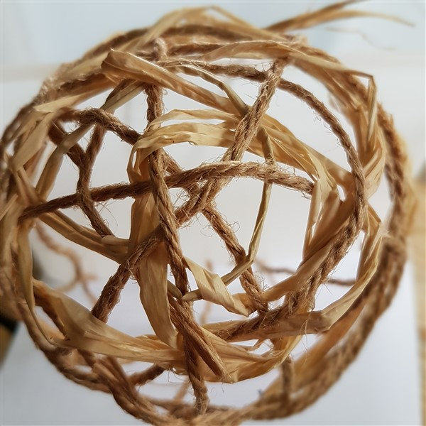 Leftfootdaisy-handmade-woven-birds-nest-starting-to-weave-the-raffia