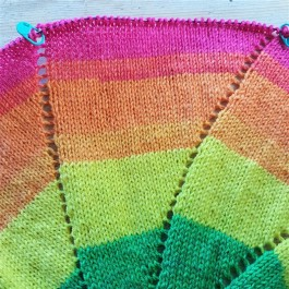 Leftfootdaisy-rainbow-pinwheel-baby-blanket-green-yellow-orange-pink