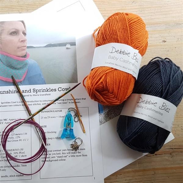 Sunshine-and-sprinkles-kal-kicks-off-airforce-blue-orange-yarn-combo