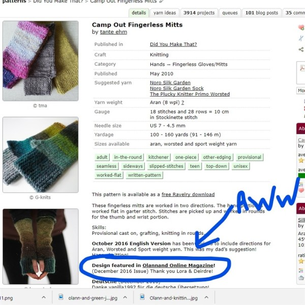 leftfootdaisy-reflections-on-a-knitted-christmas-part-2-all-the-camp-out-fingerless-mitts-ravelry-design-page